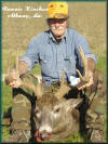 Ronnie Kinchen with a trophy Whitetail Deer.