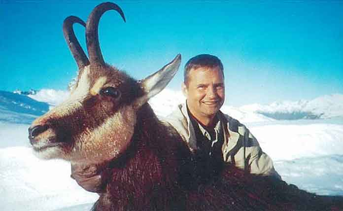 Chamois hunting in New Zealand. Hunts for chamois with New Zealand Hunting Safaris.